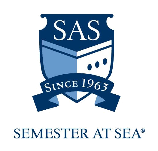Semester at Sea (SAS) logo